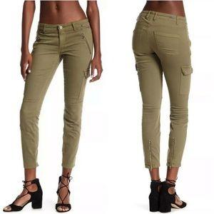 Blank NYC The Reade Crop Cargo Skinny Pants